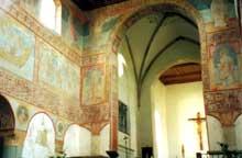 Saint Georges d'Oberzell de la Reichenau: fresques. Art Ottonien