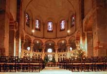 Cologne: l'église sainte Marie du Capitole: vue sur le chœur