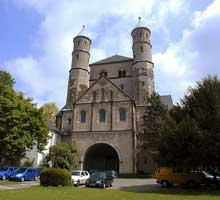 Cologne: l'église saint Pantaléon: le massif occidental