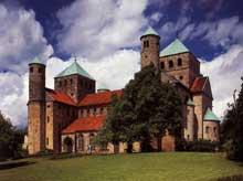 Hildesheim: saint Michel.