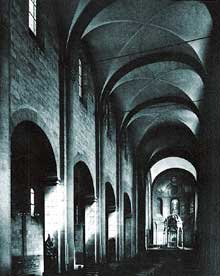 Eglise de Maria Laach�: la nef
