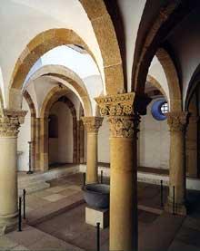 Spire: le «Kaiserdom»: la chapelle baptismale saints Martin et Emmeran