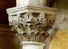 Spire: le «Kaiserdom»: chapiteau du transept sud. Vers 1080