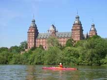 Georg Riedinger: le château d'Aschaffenburg sur le Main