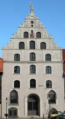 Brunswick: Gewandhaus, façade ouest