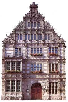 Hamel: le «Rattenfängerhaus»
