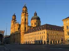 Munich: l'église des Théatins