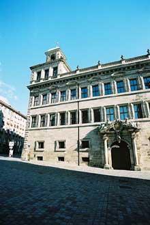 Jakob Wolff le Jeune: l'hôtel de ville de Nuremberg