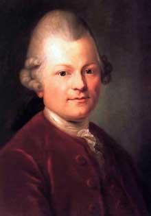 Anton Graff (1736-1813): Gotthold Ephraim Lessing, 1771. Université de Leipzig, Kunstsammlung