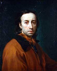 Anton Raphaël Mengs: autoportrait. 1773. Huile sur toile, 66 x 53,5 c