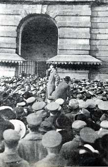 Strasbourg, novembre 1918: la République des Conseils est proclamée à Strasbourg. Document des Archives Municipales, Strasbourg