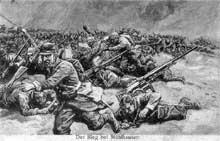 La bataille de Mulhouse en août 1914, vue côté allemand