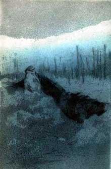 Lingekopf, 1915. Dessin de Herbert Ward