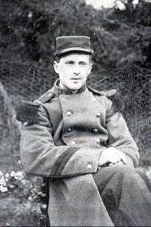Le caporal Jules André Peugeot, tué le 2 août 1914 à Joncherey