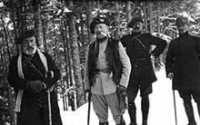 Le général Serret, mort au combat au Hartmannswillerkopf le 16janvier 1916
