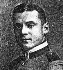 Le lieutenant Camille Mayer, enfant d'Illfurth, le premier tué de la première guerre, à Joncherey, le 2 août 1914.