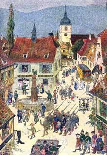 Hansi: «mon village le 1 août 1914»