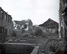 Mittelwihr, 24 décembre 1944. Bataille de la Poche de Colmar. (NA)