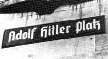 On débaptise à tour de bras… le nouveau nom de la Place Broglie à Strasbourg… ce même nom sera attribué à Mulhouse à la rue du… Sauvage