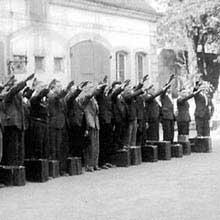 Les «Malgré-nous» partent pour le front Russe