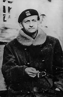Le «colonel Berger», André Malraux, «Patron» de la brigade Alsace – Lorraine.