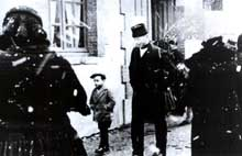 Alsaciens évacués dans le Limousin.