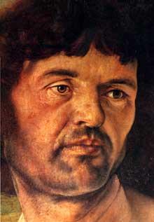 Mathias Grünewald. Détail du Retable d'Issenheim: saint Sébastien