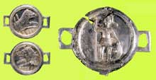 Les phalères d'Ittenheim. VIIè siècle après JC. Musée archéologique de Strasbourg