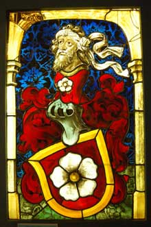 Blason des M�llenheim. Vers 1437 Paris, mus�e de Cluny