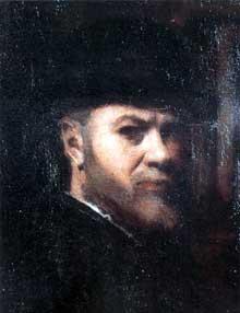 Jean Jacques Henner: autoportrait