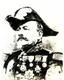 Le général Uhrich, défenseur de Strasbourg en 1870