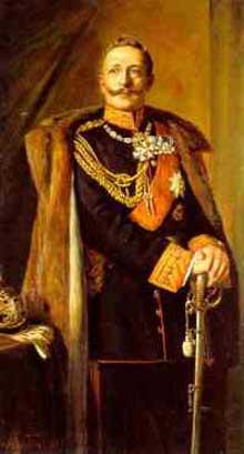 GuillaumeII, empereur d'Allemagne (1888-1918