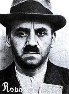 Joseph Rossé après son arrestation.