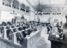 Le parlement d'Alsace Lorraine à Strasbourg