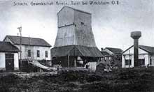 La Potasse: le puits Amélie à Wittelsheim au début du XXè