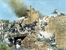 Prise de la porte de Landau, Wissembourg, 4 août 1870