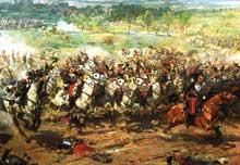 6 Août 1870: la charge des «Cuirassiers» par Aimé Morot