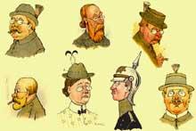 Les «Boches»: caricatures de Hansi