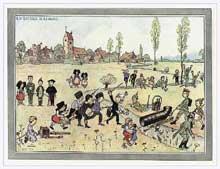 La bataille de la Marne, revue et corrigée par Hansi
