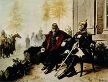 Rencontre Napoléon III – Bismarck après Sedan
