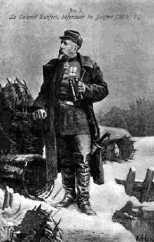 Le colonel Pierre Marie Philippe Aristide Denfert-Rochereau, le «lion de Belfort» (1823-1878)