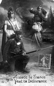 1914: propagande française