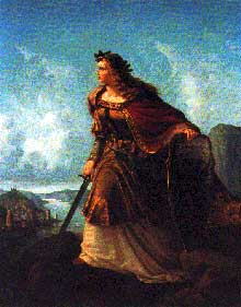 Lorenz Clasen: Germania à la Garde du Rhin (1860)