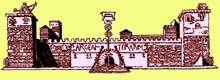 Reconstitution de la ��Porta Praetoria�� du camp d�Argentorate au Bas Empire
