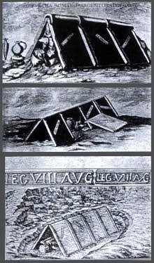 Argentorate�: tombes sous tuile du Bas Empire. Fouilles de Robert Forrer, 1927