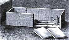 Argentorate: nécropole de la porte Blanche. Dessin de la sépulture 8. Fouille de Straub, 1879-1880