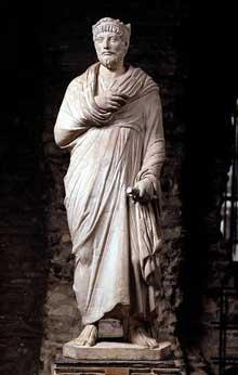 Statue de Julien l'Apostat. Vers 362-363. Paris, musée du Louvre