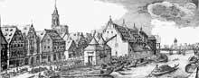 Strasbourg: la Douane au Moyen Age