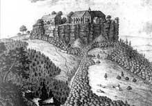Le mont Sainte Odile au XIXè