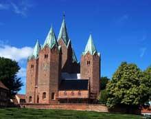 Kalundborg: la cathédrale, vue générale